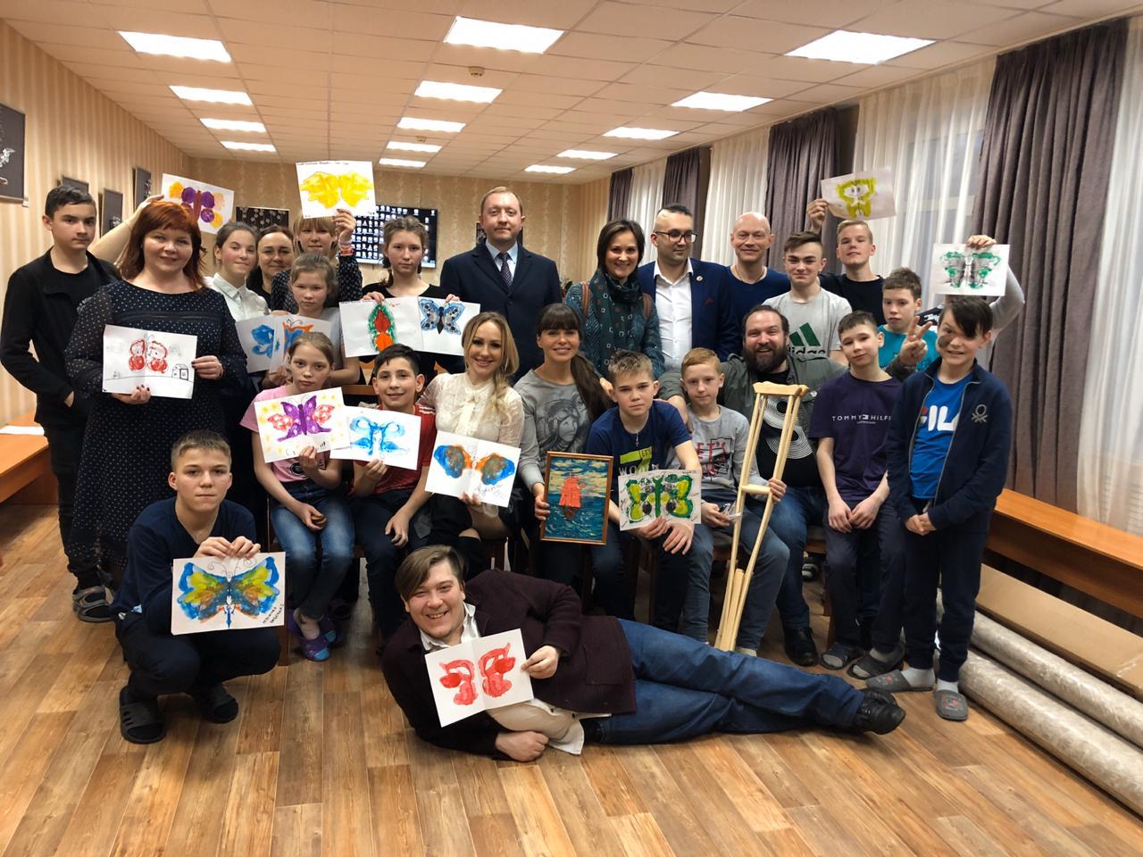 Проект «Настоящий писатель» помогает детским домам