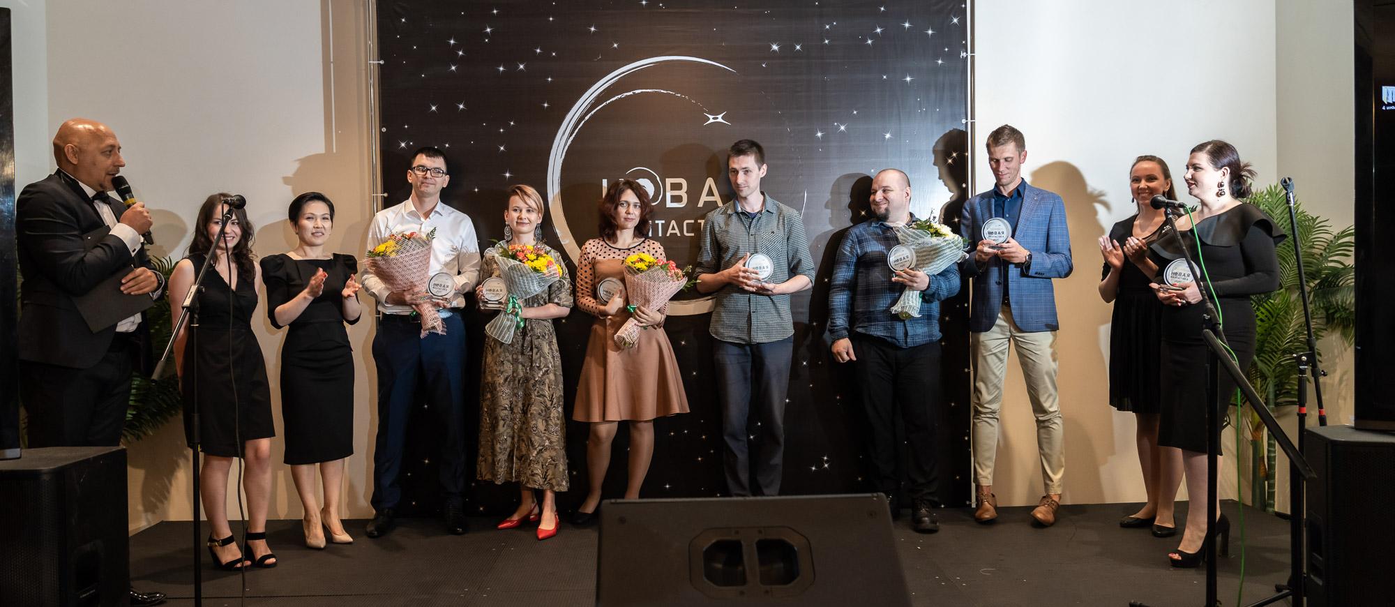 Фотоотчёт вручения премии Новая Фантастика 2020